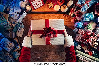 cadeau, kerstmis