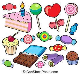cakes, versuikeren, verzameling