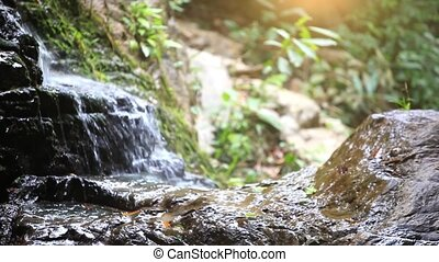 camera., natuur, shift, brandpunt, waterval, veranderen, achtergrond, hd., bergen., 1920x1080