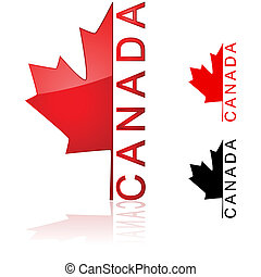 canadees, pictogram