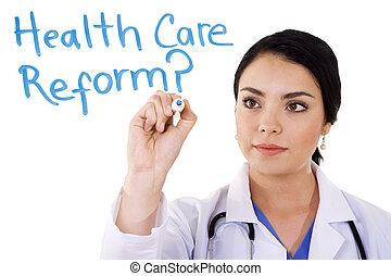 care, gezondheid, reform