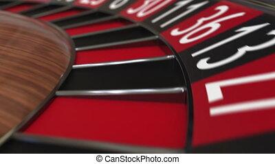 casino, black , 24, wiel, roulette, bal, twenty-four, klappen
