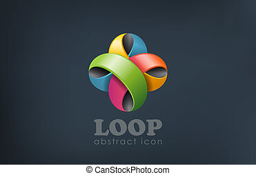 celebrate., gebeurtenis, bloem, abstract, vorm., lus, logo, plezier, lint
