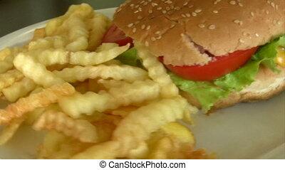 cheeseburger, bakken