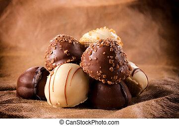 chocolade, zoet