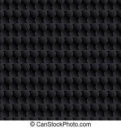 cirkels, abstract, zwarte achtergrond