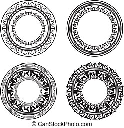 cirkels, sierlijk
