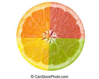 citrus vrucht
