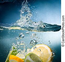 citrus, waterdaling