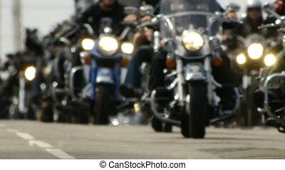 close-up, bikers., -, hd