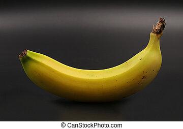 close-up, sideview, vrijstaand, enkel, black , banaan