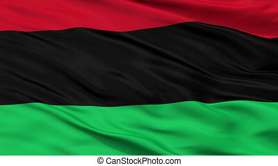 closeup, panafrican, unia, seamless, bevrijding, vlag, zwarte amerikaan, afro, lus