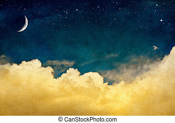 cloudscape, maan