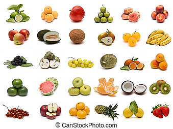 collection., fruit