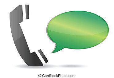 communicatie, concept, illustratie