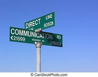 communicatie, direct