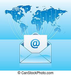communicatie, email