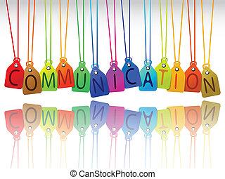 communicatie, markeringen