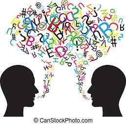 communicatie, symbool