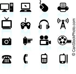 communicatie, technologie, communie, ontwerp
