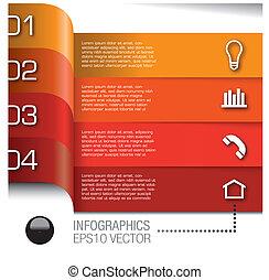 communie, set, vector, infographics