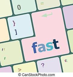 computer, knoop, illustratie, vector, vasten, klee, toetsenbord