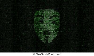 computerkraker, persoon, attack.