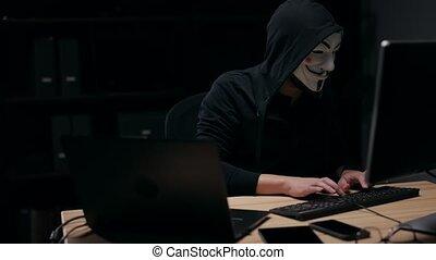 computerkraker, unrecognizable