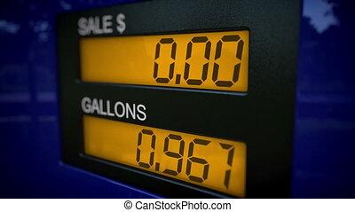 concept, benzine, kosteloos