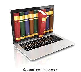 concept, d, -, boek, instead, 3d
