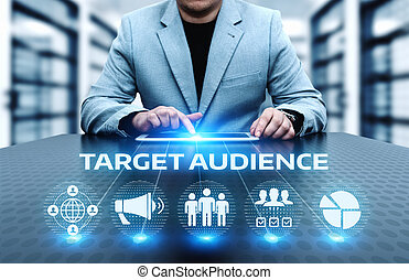 concept, doel, zakelijk, marketing, publiek, internet technologie