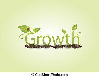 concept, groei