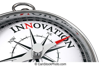 concept, innovatie, kompas