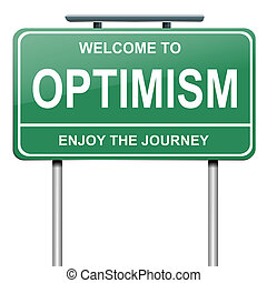concept., optimistisch