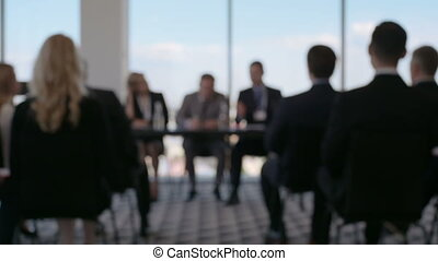 conferentie, zakenlui