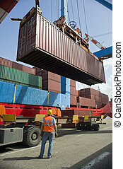 container, starten