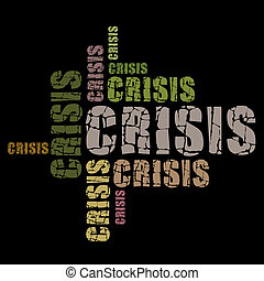 crisis, woorden