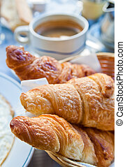 croissants, ontbijt