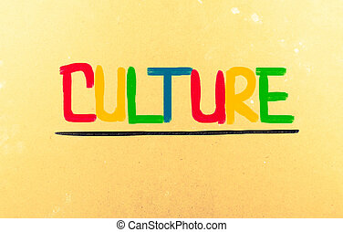 cultuur, concept