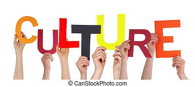 cultuur, holdingshanden