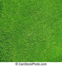 cursus, textuur, gras, groene, golf, mooi