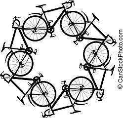 cycling, ongeveer