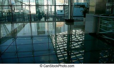 dak, reflectie, glad, oppervlakte