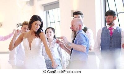 dancing, trouwfeest