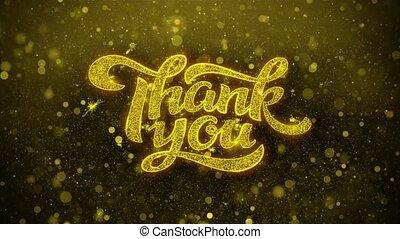 danken, kaart, uitnodiging, wensen, begroetenen, u, vuurwerk, viering