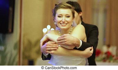 dans, einde, trouwfeest
