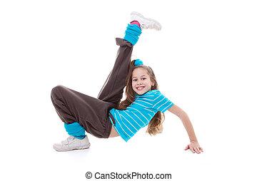 dans, het uitoefenen, kind