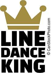 dans, koning, lijn