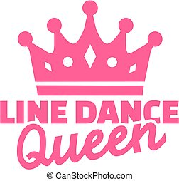 dans, lijn, koningin