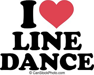 dans, lijn, liefde